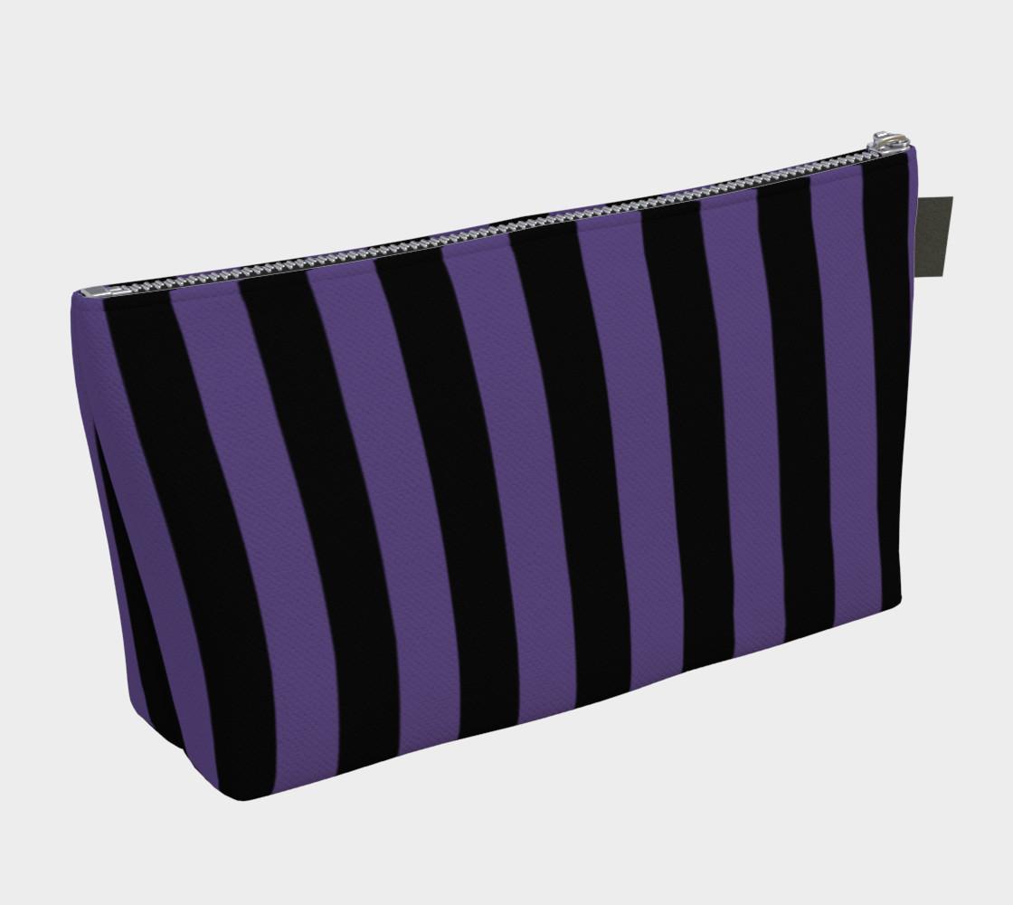 Aperçu de Black and Ultra Violet Purple Stripes #2