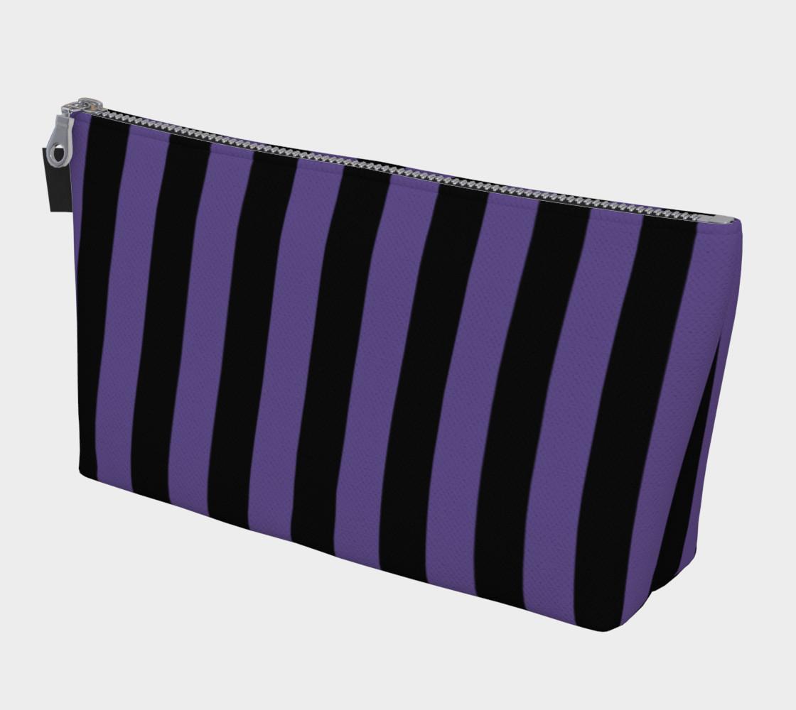 Aperçu de Black and Ultra Violet Purple Stripes #1
