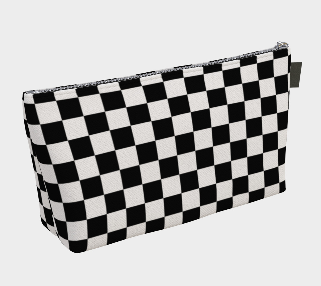 Aperçu de Black and White Checkerboard Squares #2