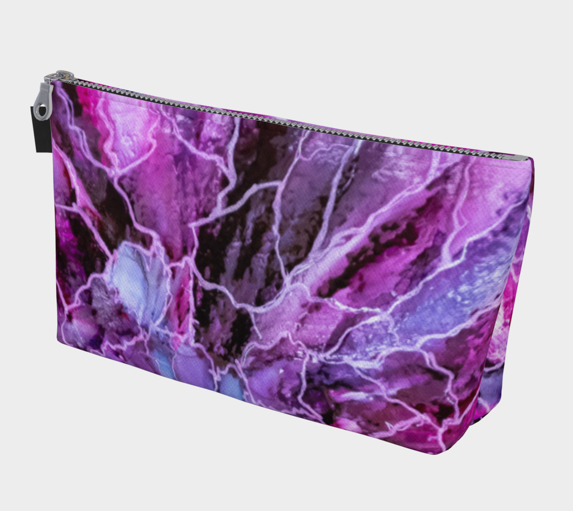Pink & Mauve Abstract Alcohol Ink Art Bloom  preview #1