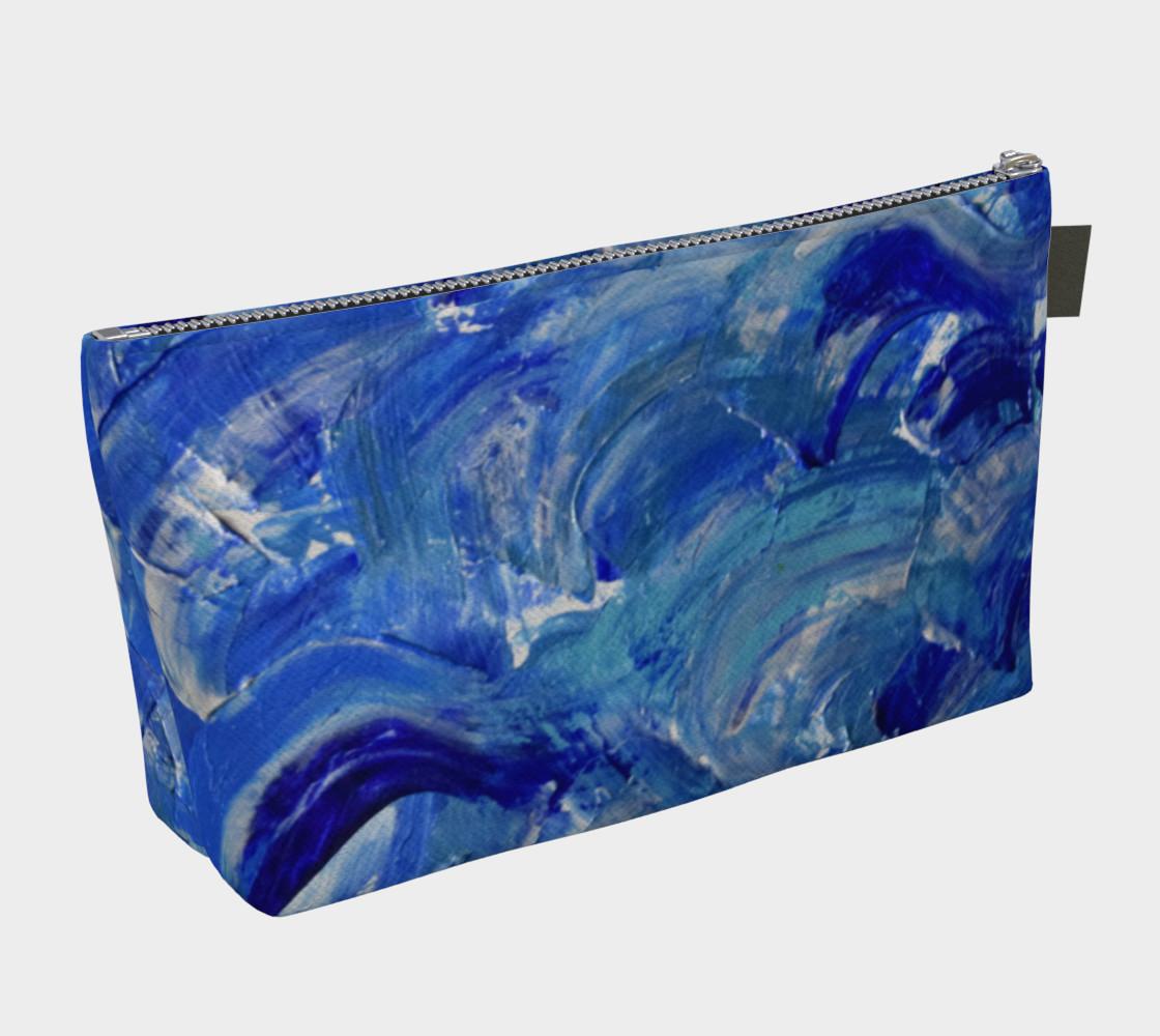 Shimmer Waves Splash Art by Janet Gervers preview #2