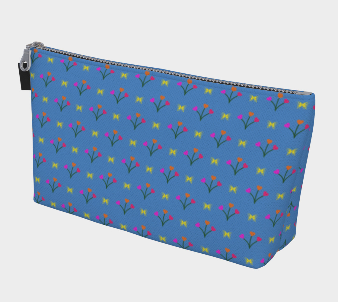 Flower Fields Makeup Bag preview #1