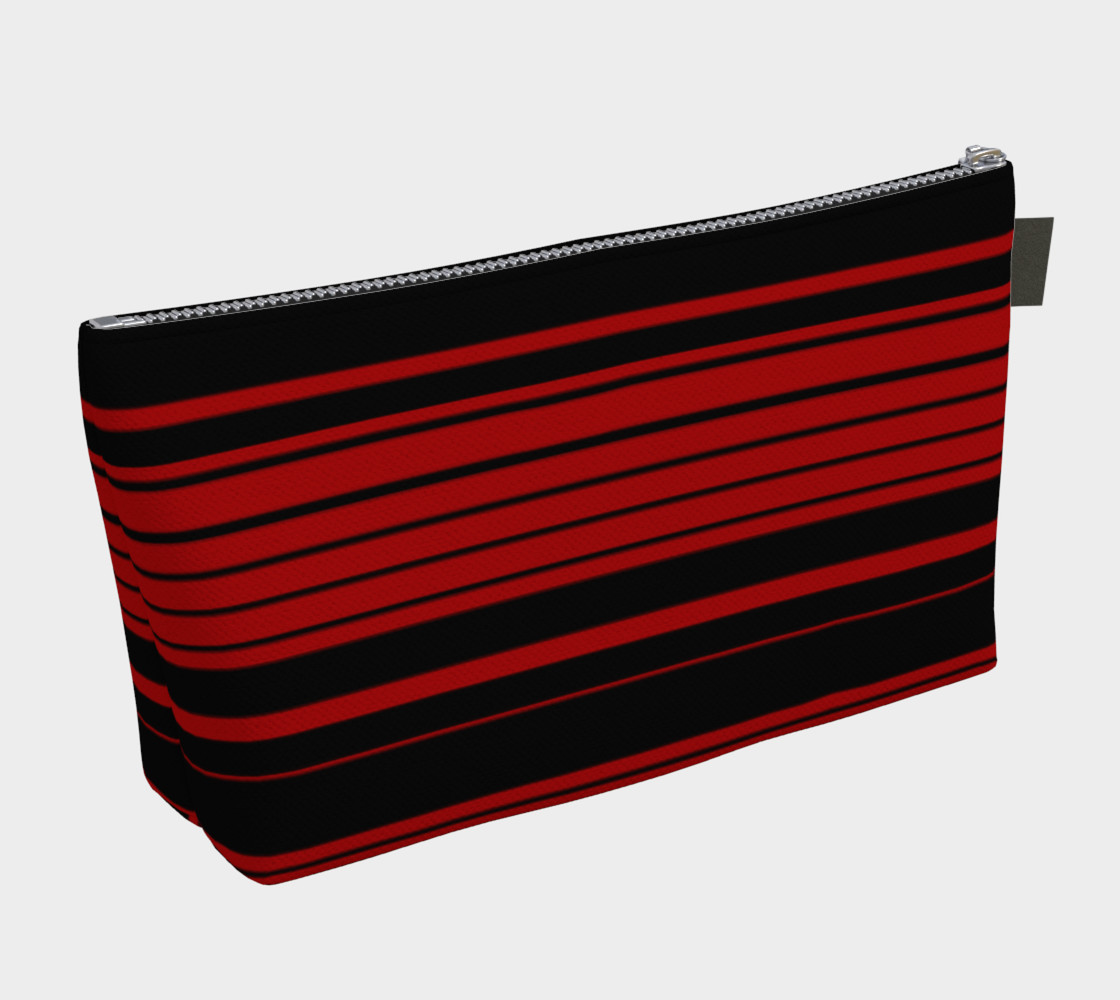 Three Red Stripes You're Out Makeup Bag preview #2