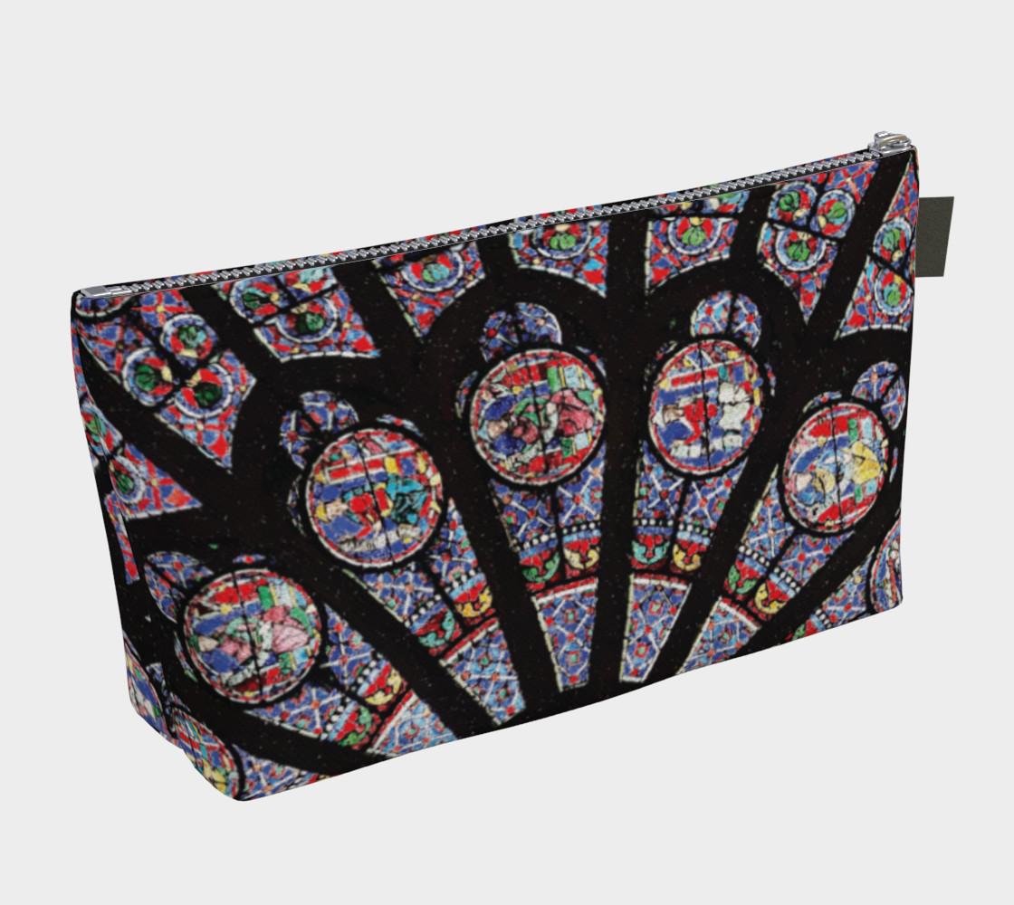Rose South Window, Notre Dame Paris Makeup Bag preview #2