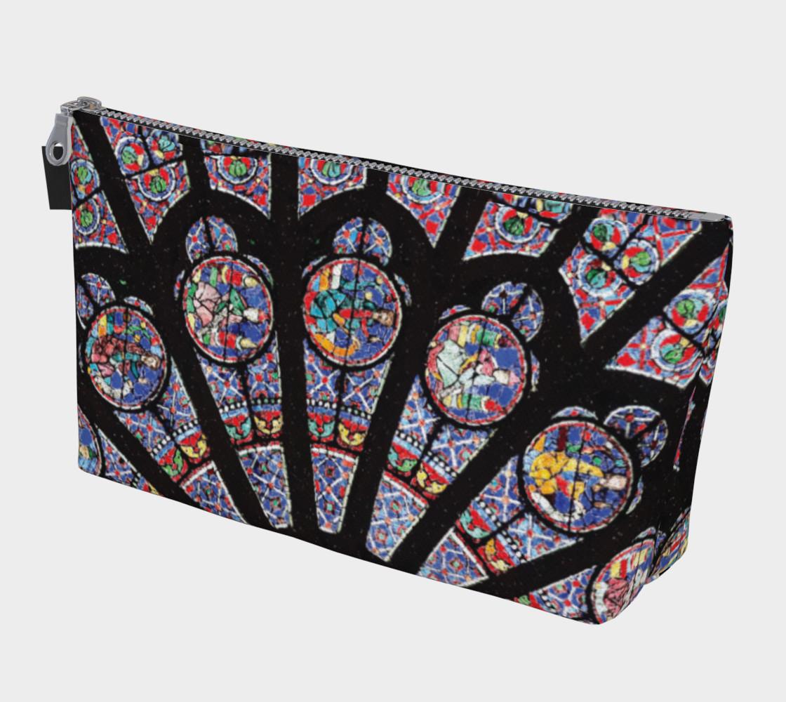 Rose South Window, Notre Dame Paris Makeup Bag preview #1