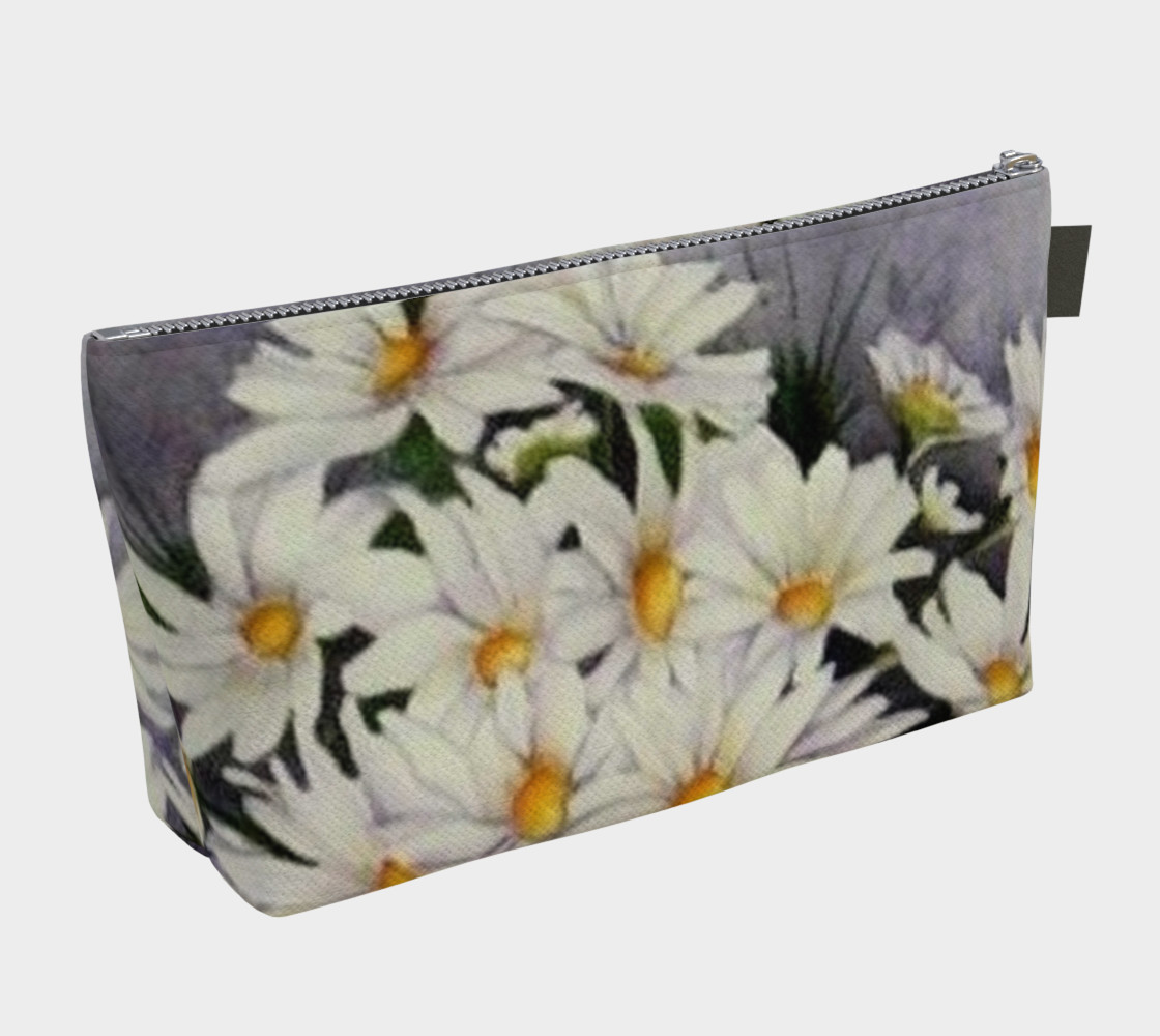 WHITE DAISIES in WATERCOLOR preview #2