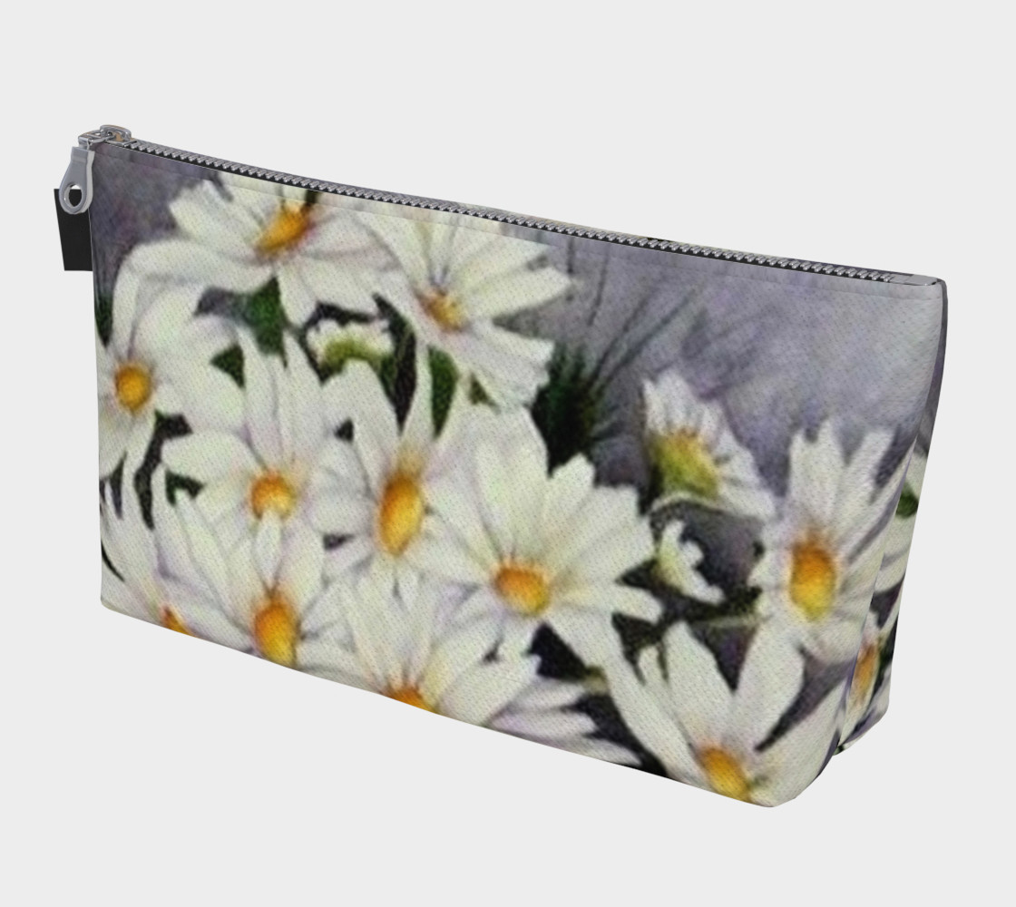 WHITE DAISIES in WATERCOLOR 3D preview