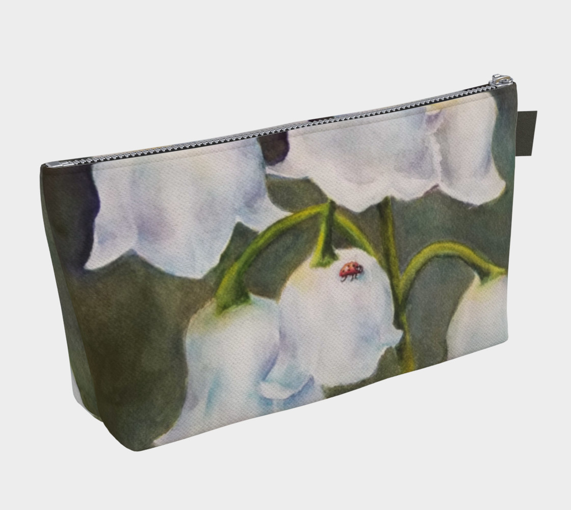 LILY OF THE VALLEY LADYBUG in WATERCOLOR preview #2