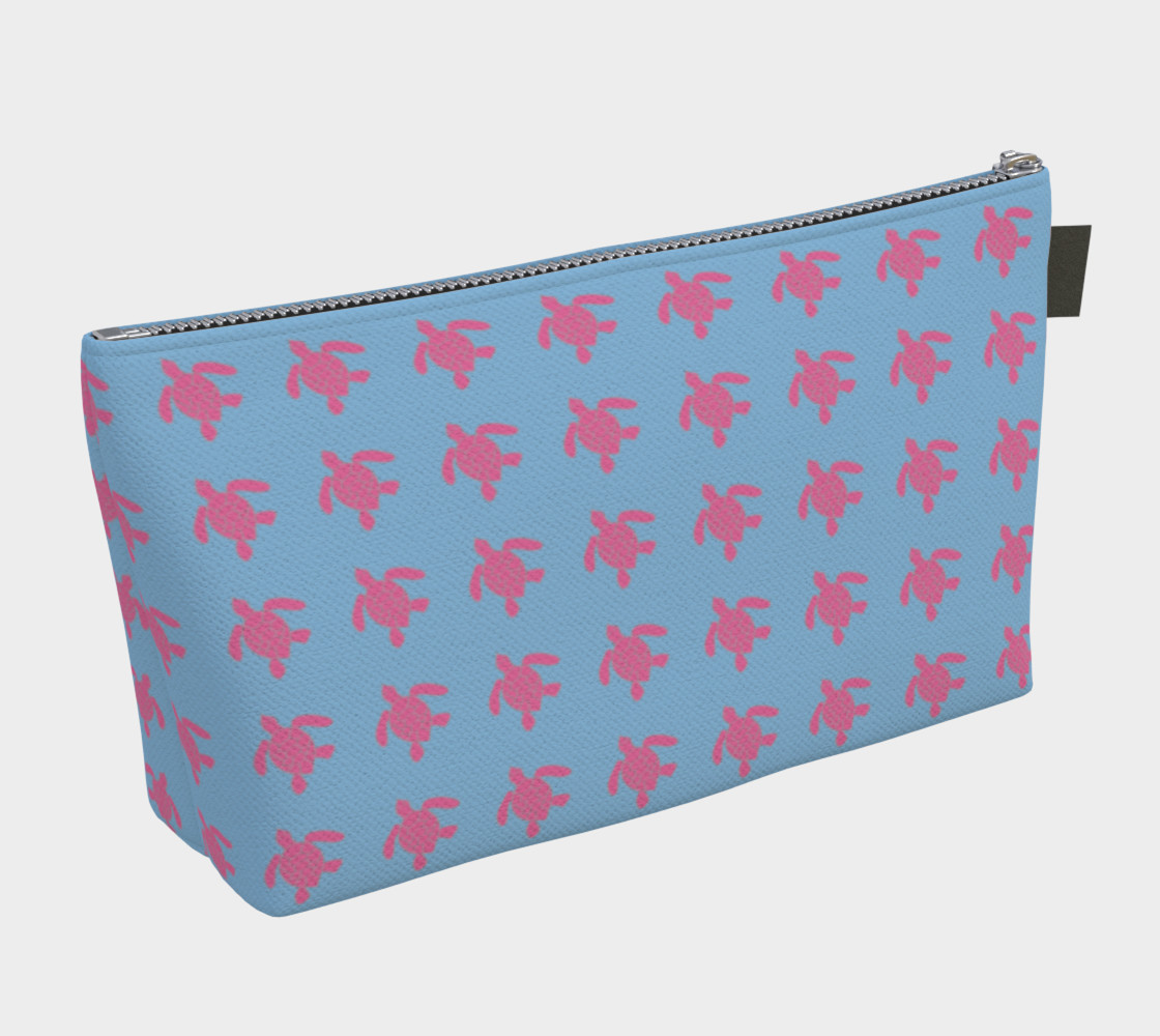 Turtle - Pink on Blue preview #2