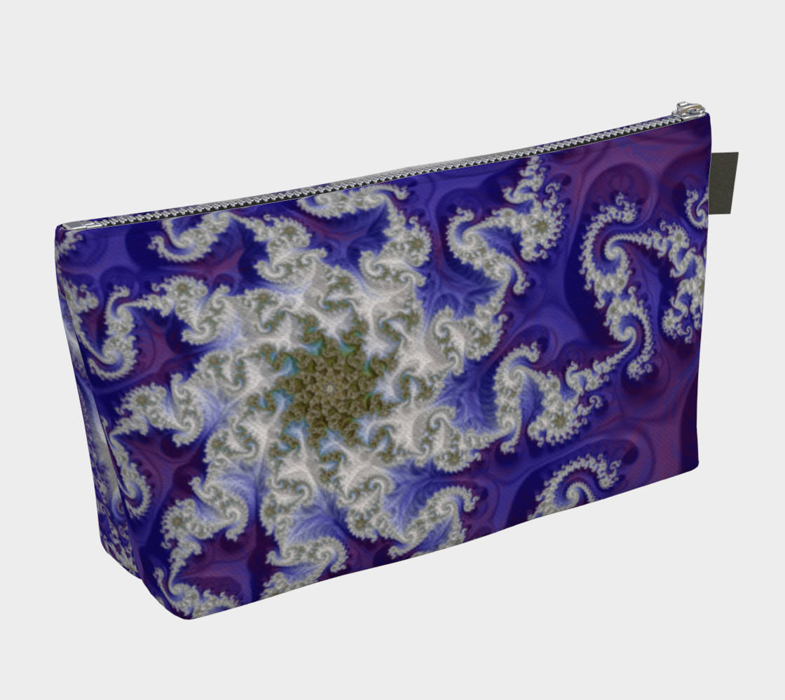 Purple Royals Make Up Bag preview #2