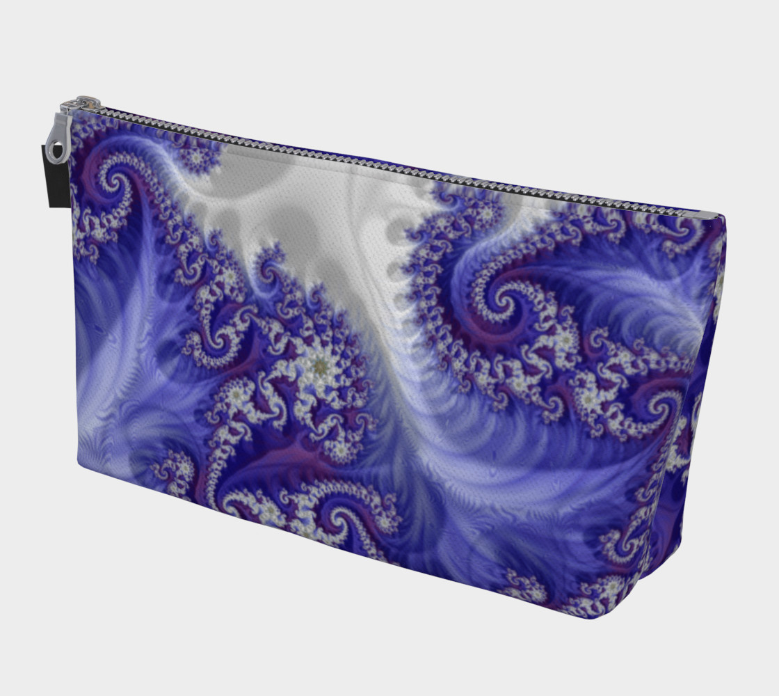 Purple Royals Make Up Bag preview #1