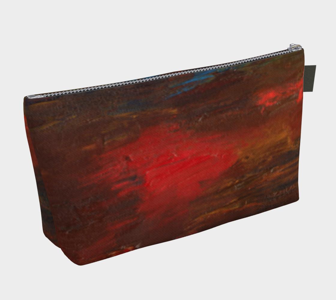 Crimson Ocean Makeup Bag preview #2