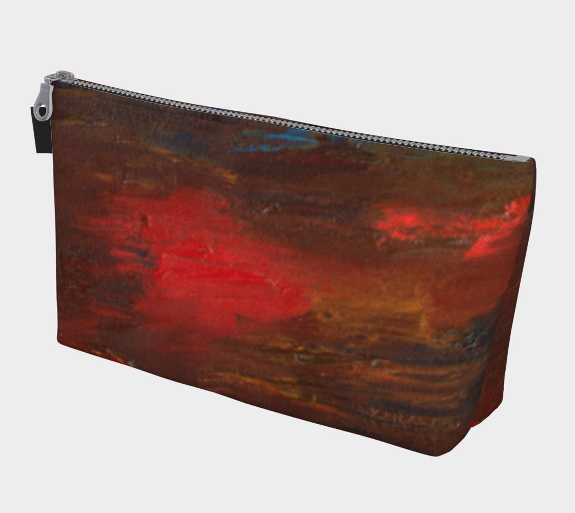 Crimson Ocean Makeup Bag preview #1