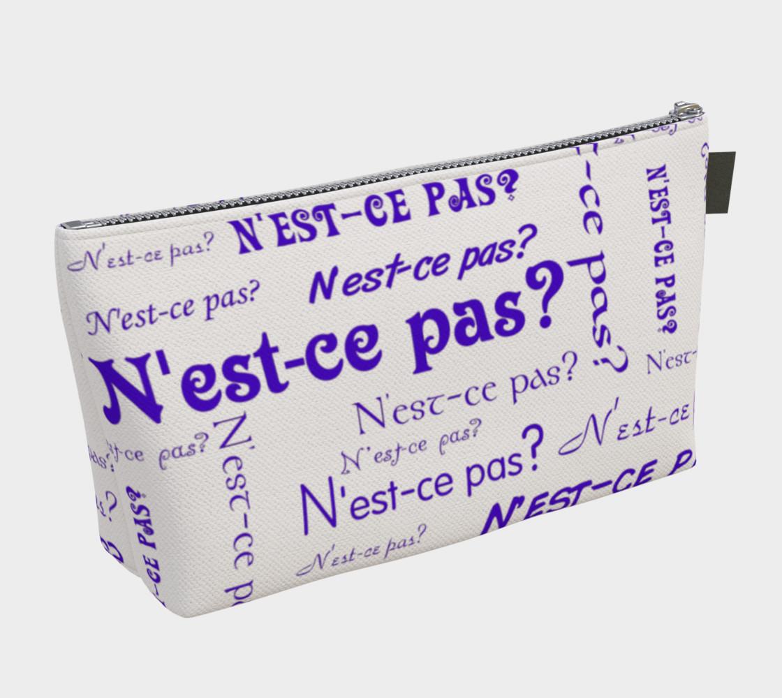 Aperçu de Purple N'est-ce Pas Makeup Bag #2