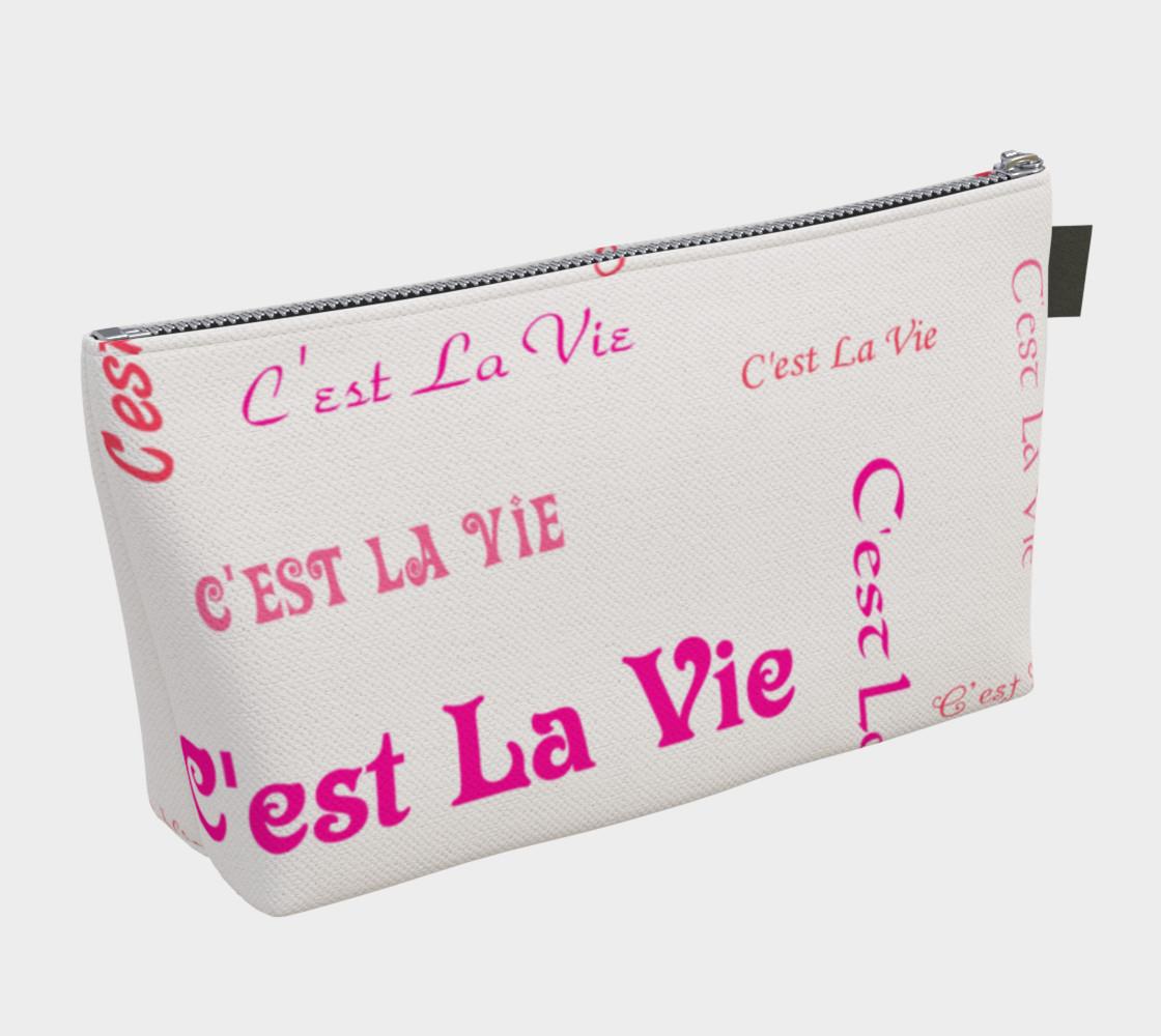 Aperçu de Fuchsia C'est la Vie Makeup Bag #2