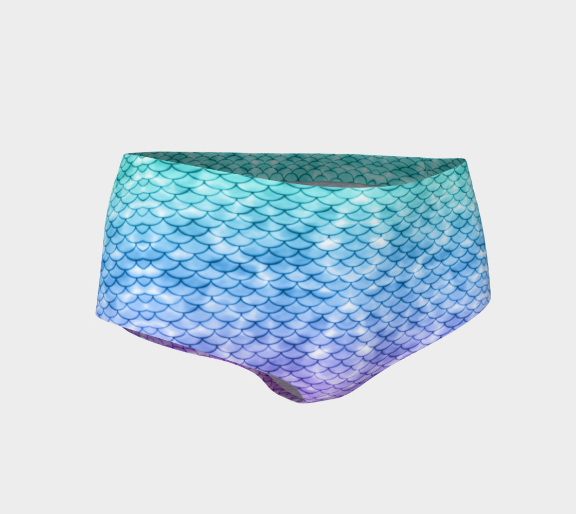 Mystic Mermaid Mini Shorts preview #1