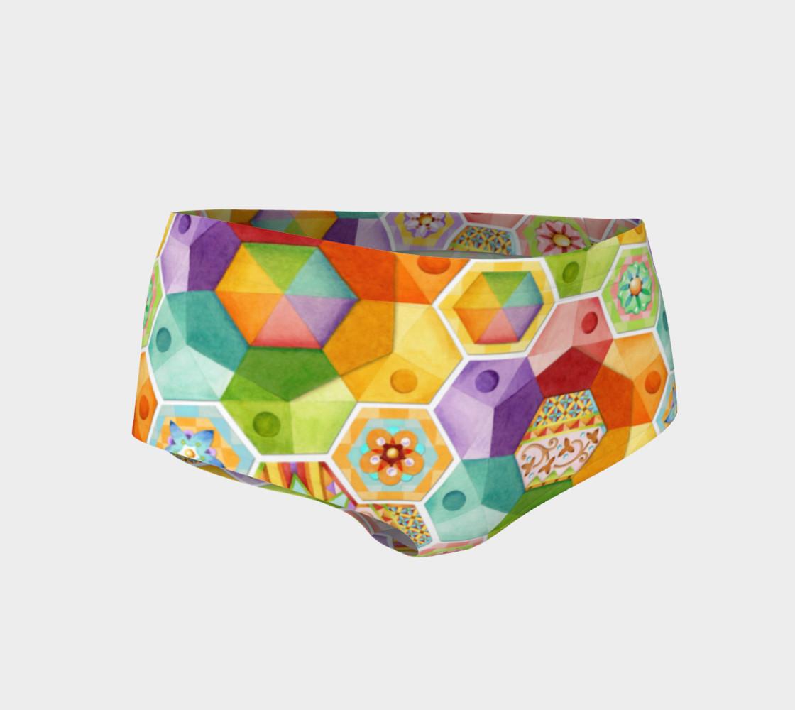 Aperçu de Circus Rainbow Hexagons #1