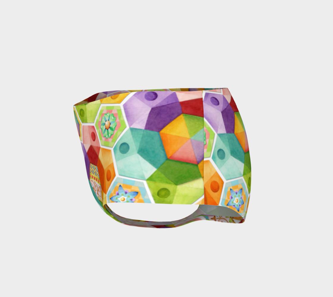 Aperçu de Circus Rainbow Hexagons #3