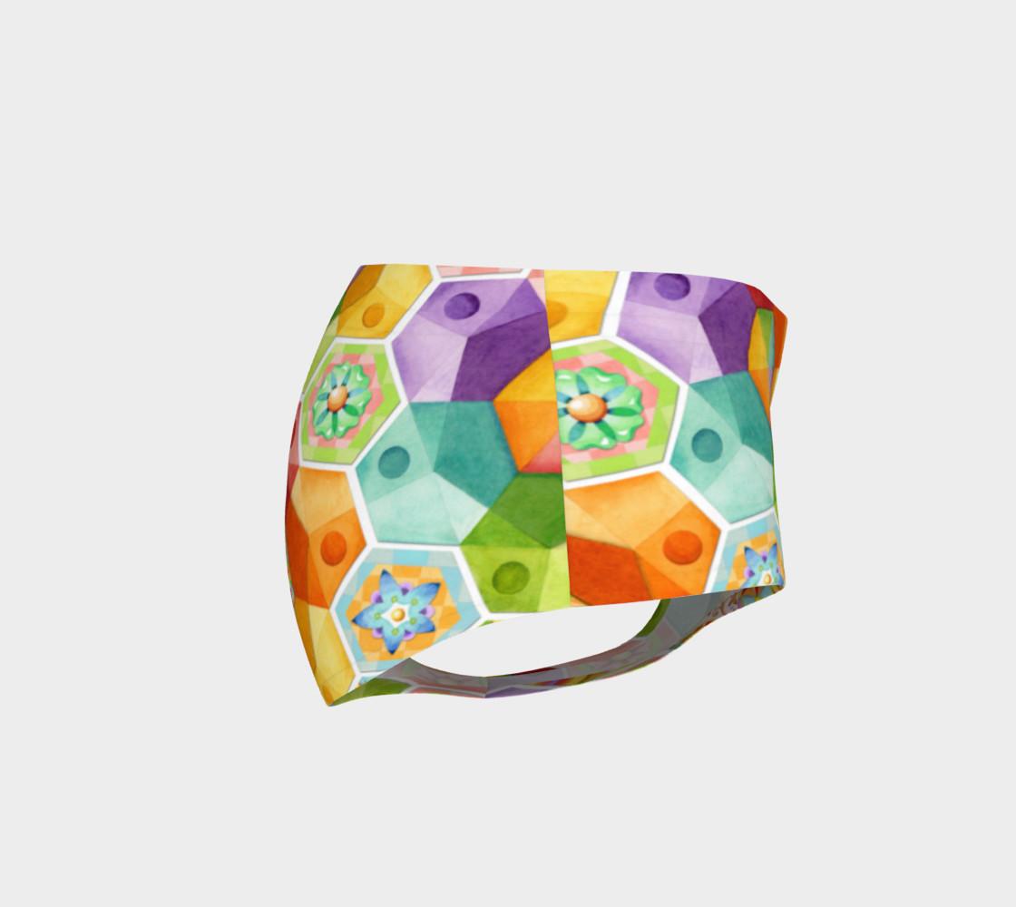 Aperçu de Circus Rainbow Hexagons #4