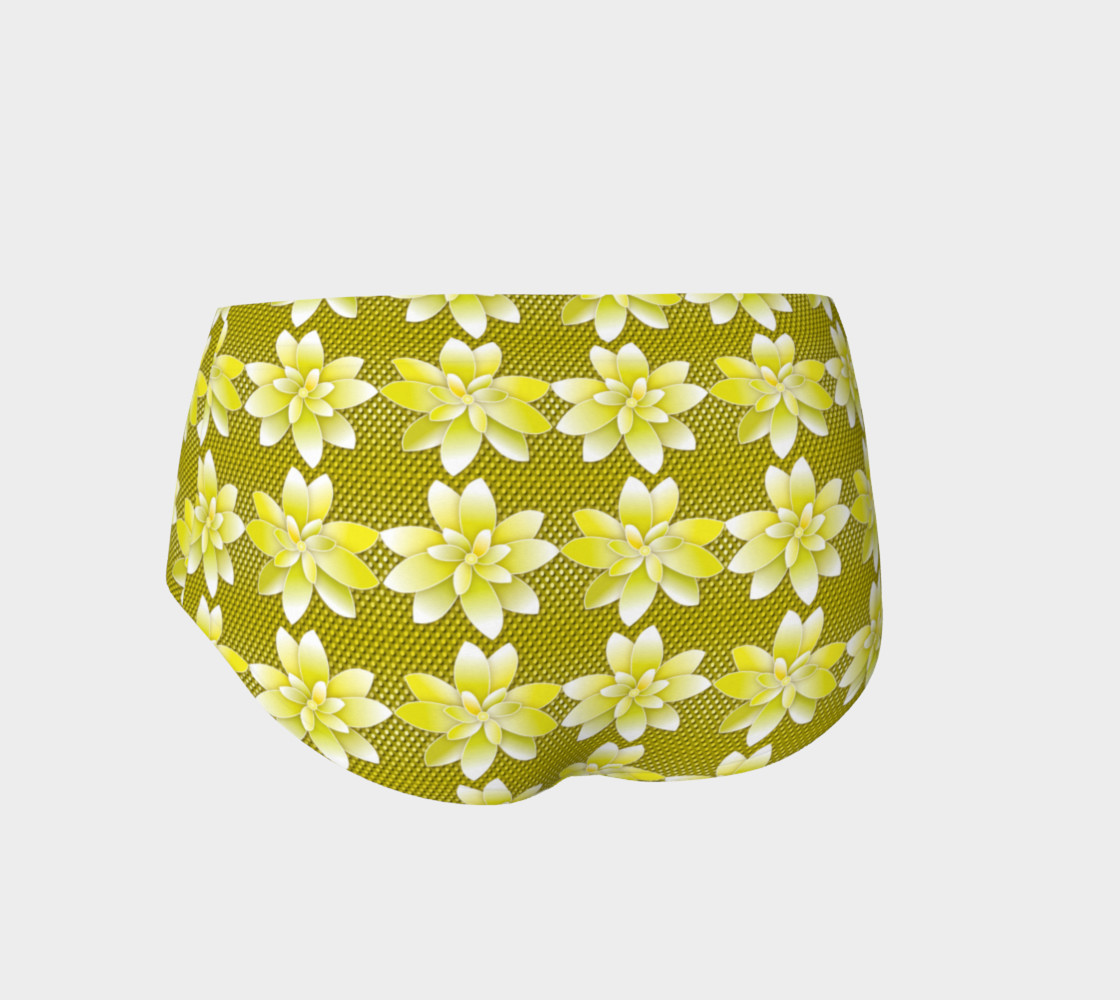 Yellow Flowers Dot preview #2