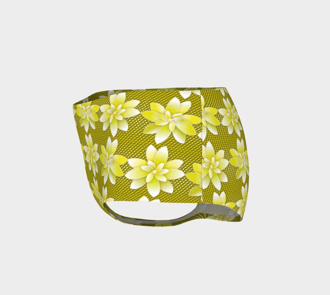 Yellow Flowers Dot preview #3