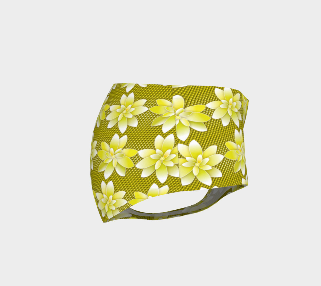 Yellow Flowers Dot preview #4