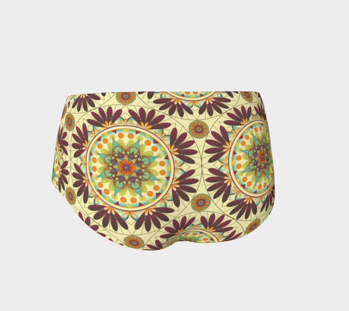 Gaia Mandala Mini Shorts preview #2