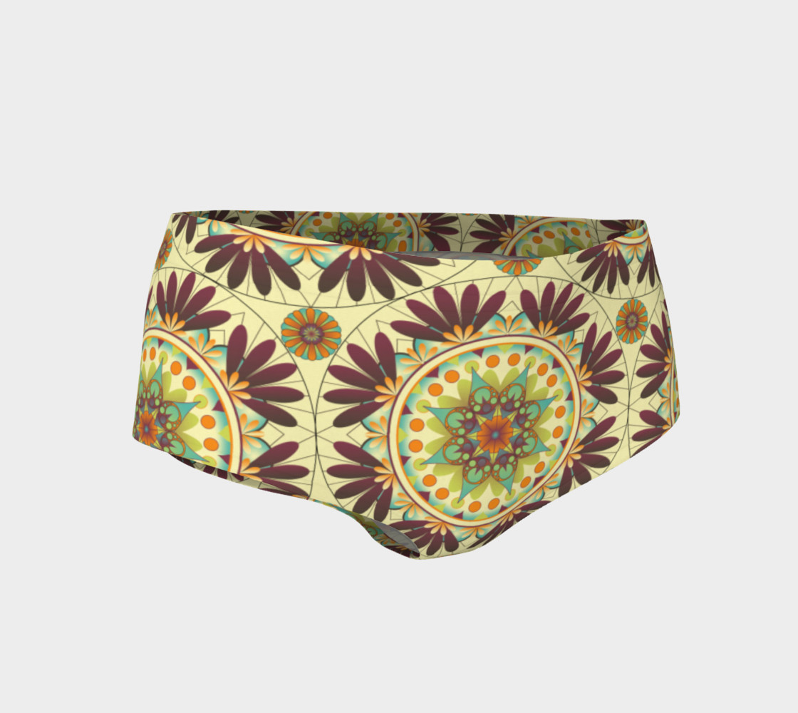 Gaia Mandala Mini Shorts preview #1