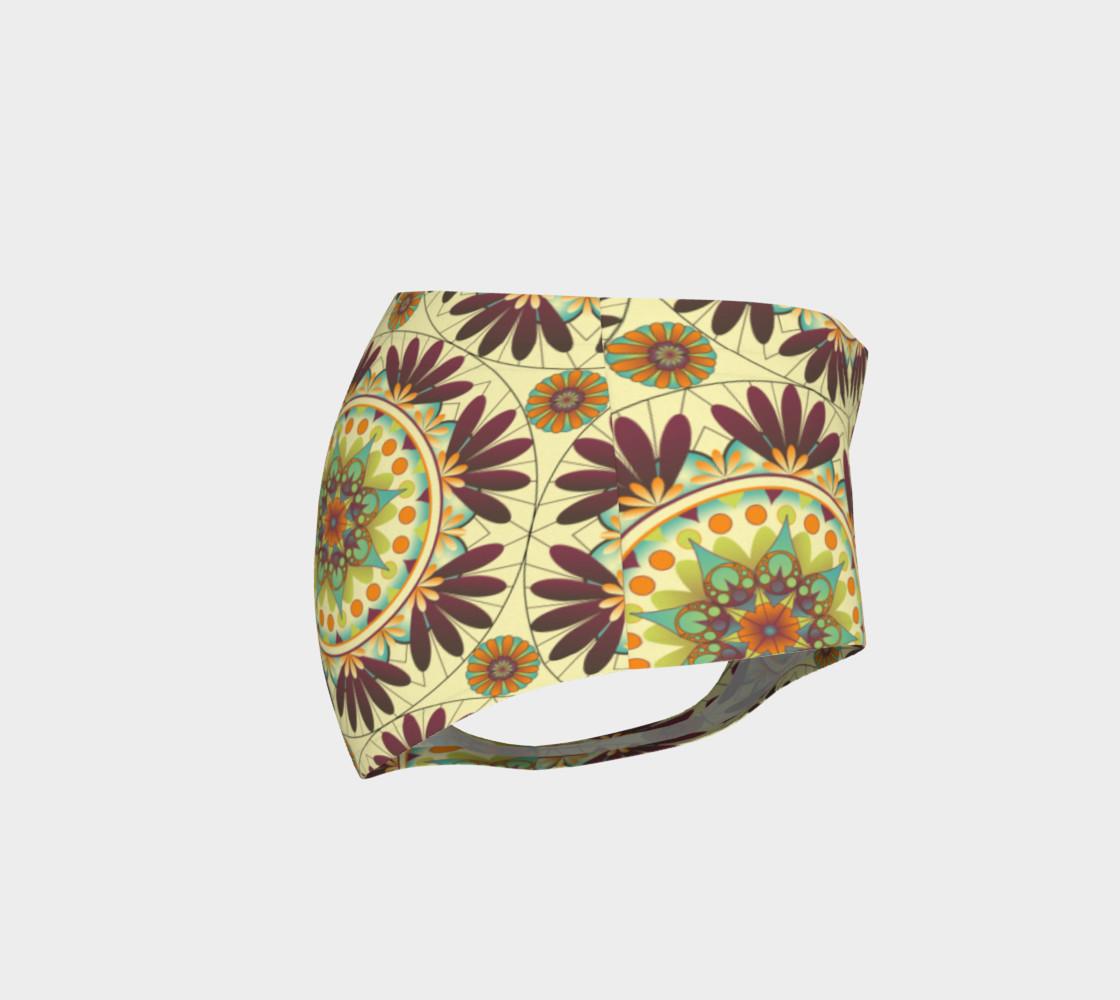 Gaia Mandala Mini Shorts preview #4