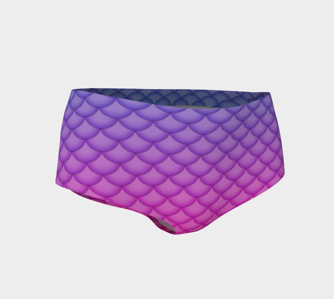 Party Exclusive Mermaid MiniShorts preview #1