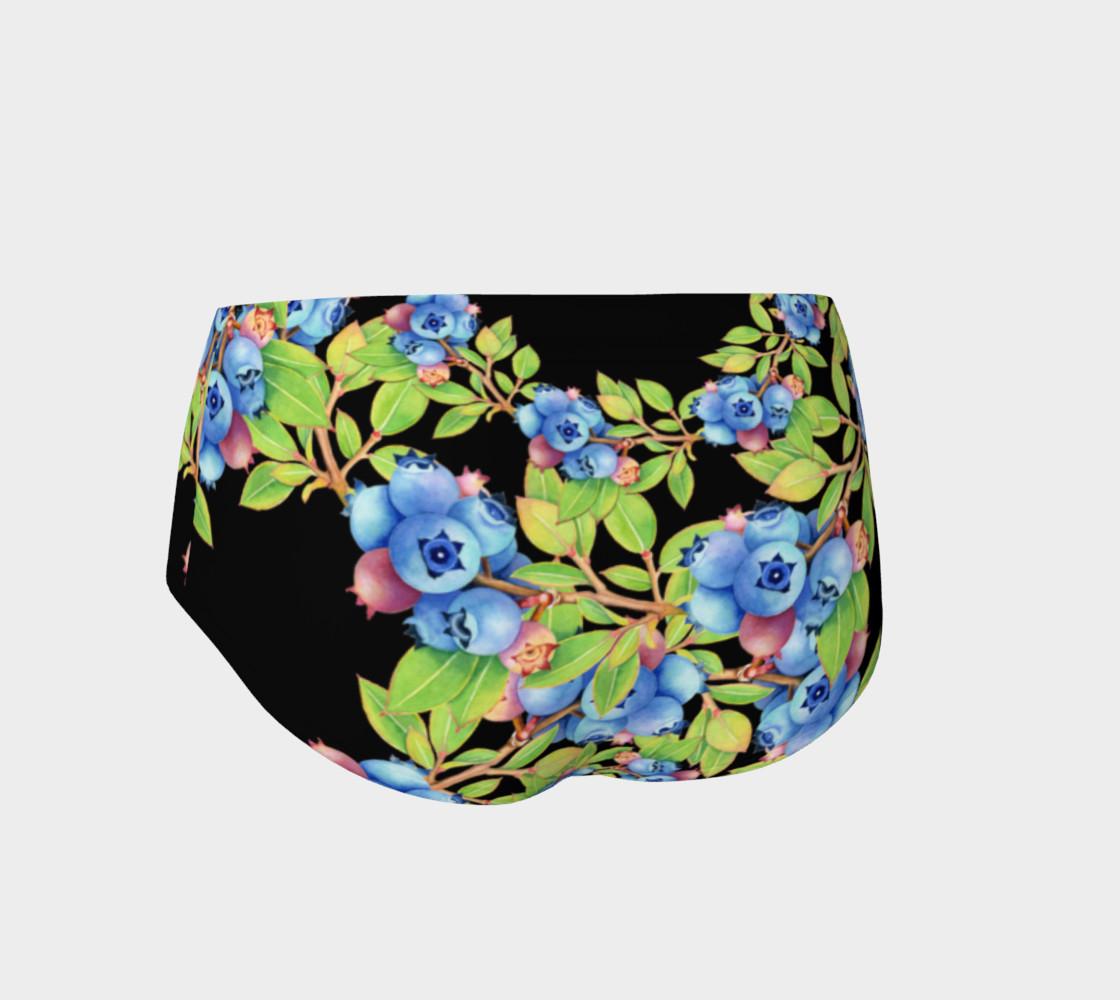 Aperçu de Blueberry Lattice Mini Shorts #2