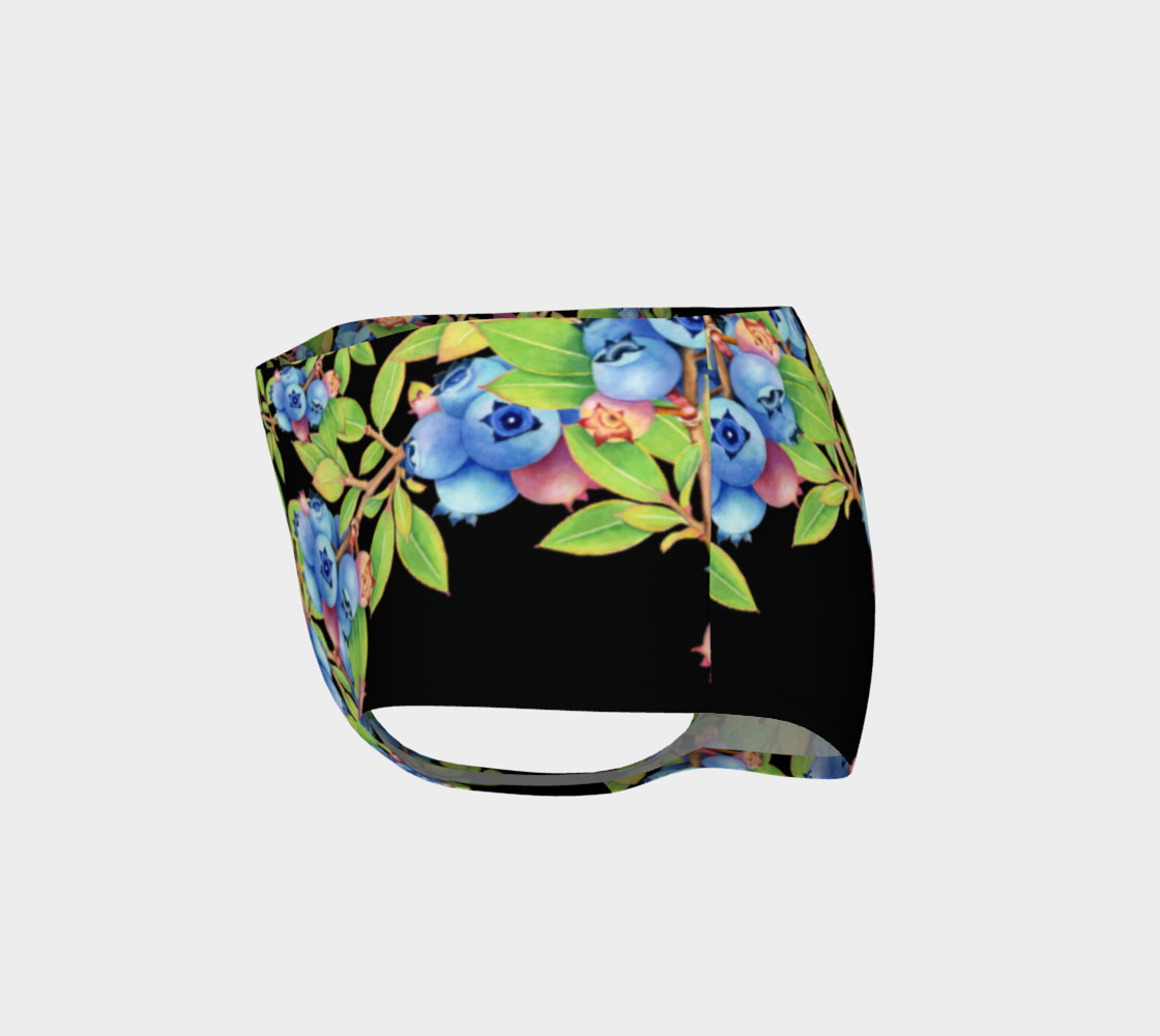 Aperçu de Blueberry Lattice Mini Shorts #3