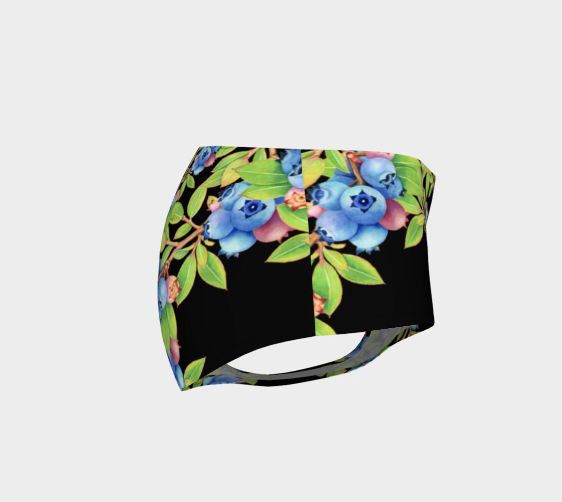 Aperçu de Blueberry Lattice Mini Shorts #4