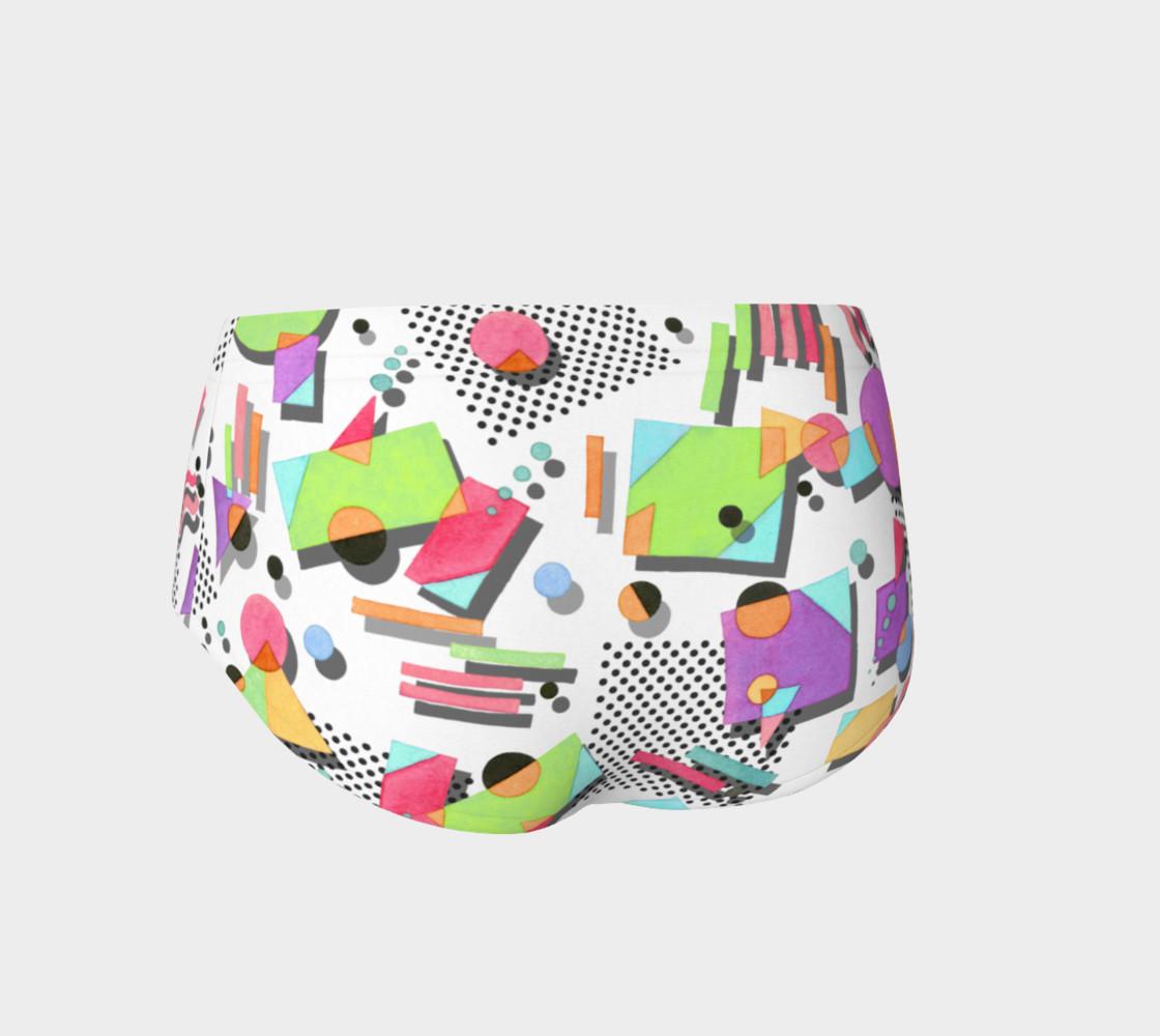 Aperçu de Rad Nineties Geometric Mini Shorts #2