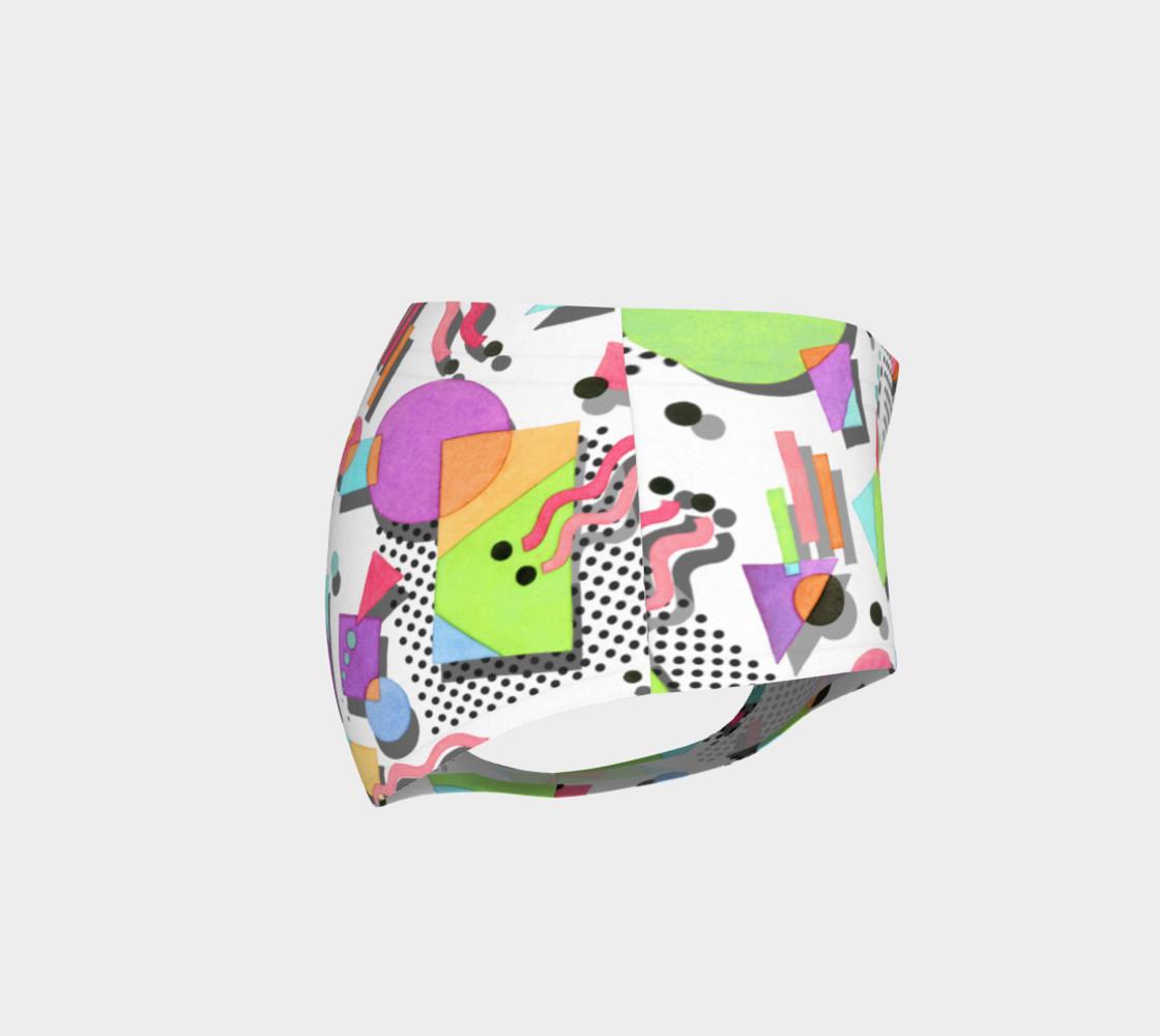 Aperçu de Rad Nineties Geometric Mini Shorts #4