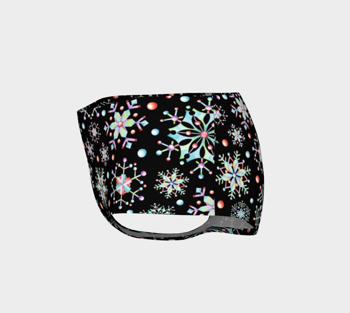 Aperçu de Prismatic Snowflakes Mini Shorts #3