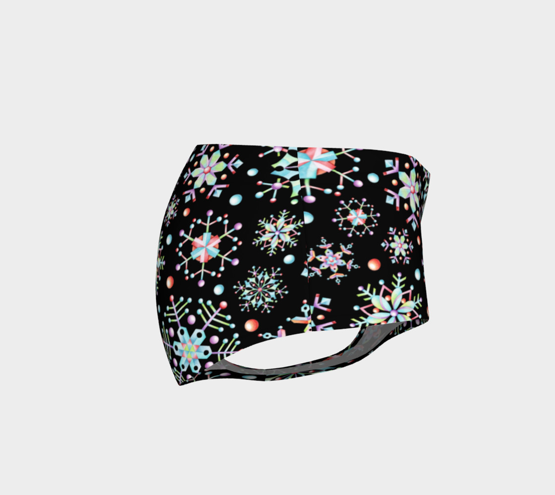 Aperçu de Prismatic Snowflakes Mini Shorts #4
