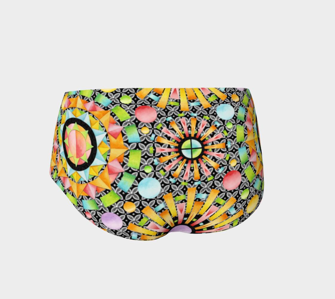 Aperçu de Aurora Geometric Mini Shorts #2