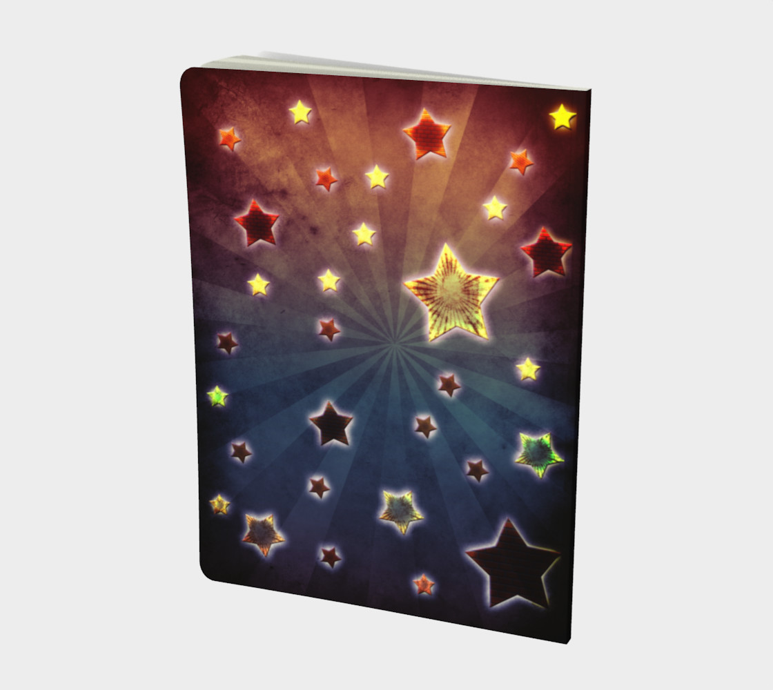 Grunge stars design preview #2