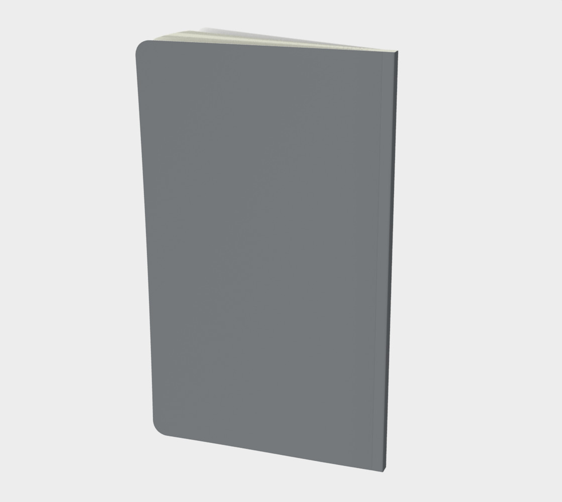 SIlver on Copper Small Notebook preview #2