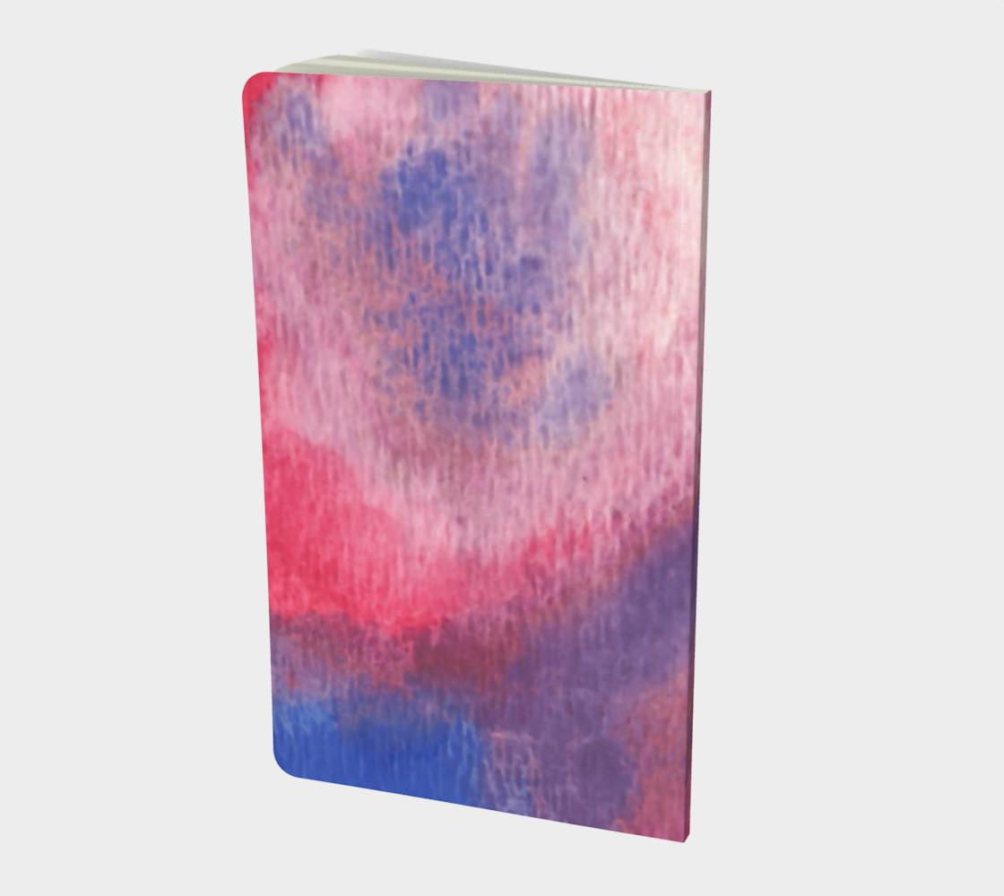 Aperçu de Roses at Night Small Notebook #2