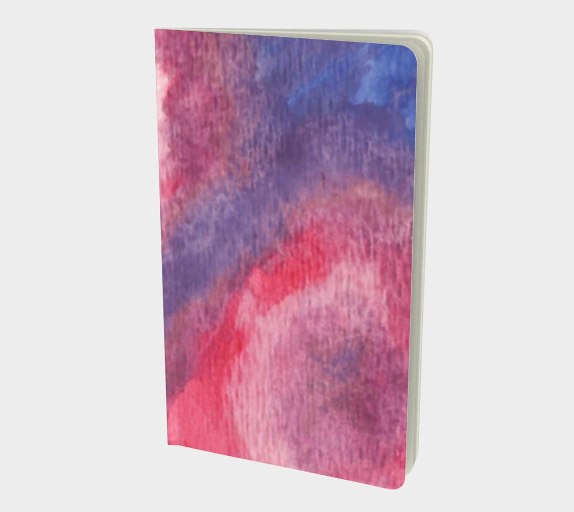 Aperçu de Roses at Night Small Notebook #1