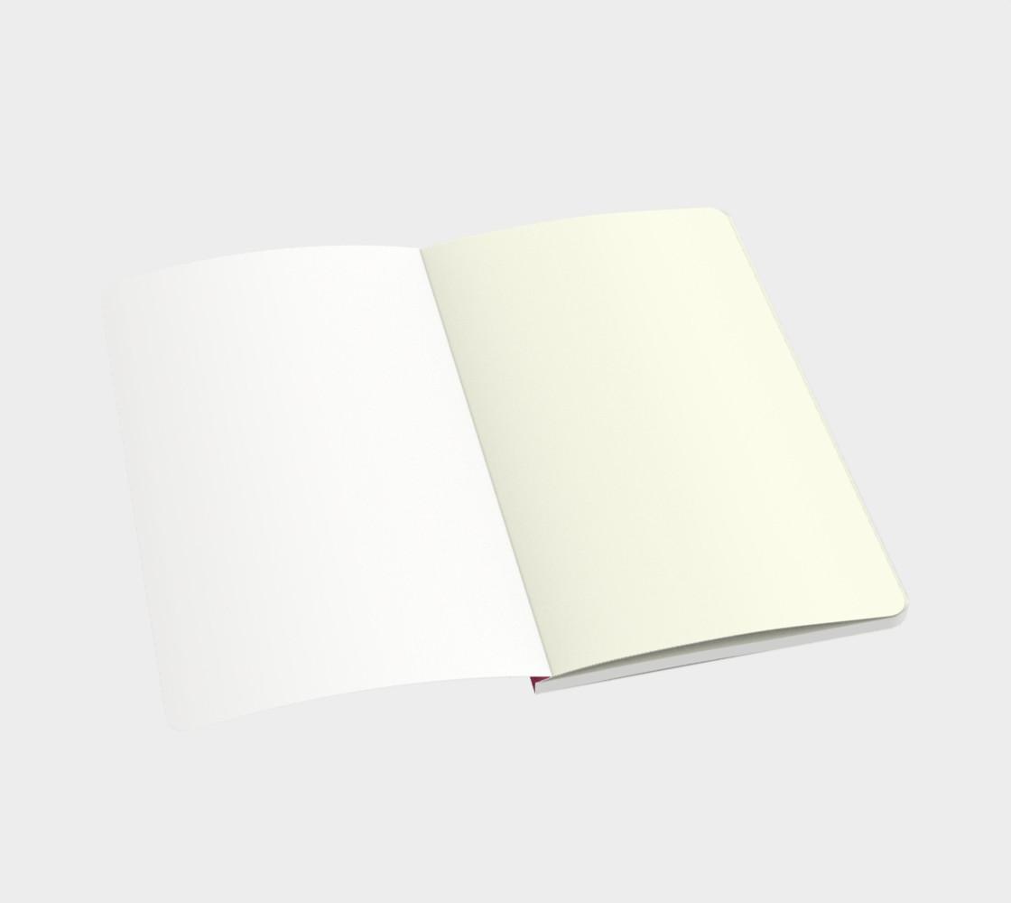 Aperçu de Roses at Night Small Notebook #3