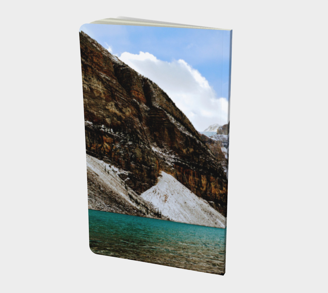 Small Journal - Moraine Lake Rocky Mountains  - John Muir quote preview #2