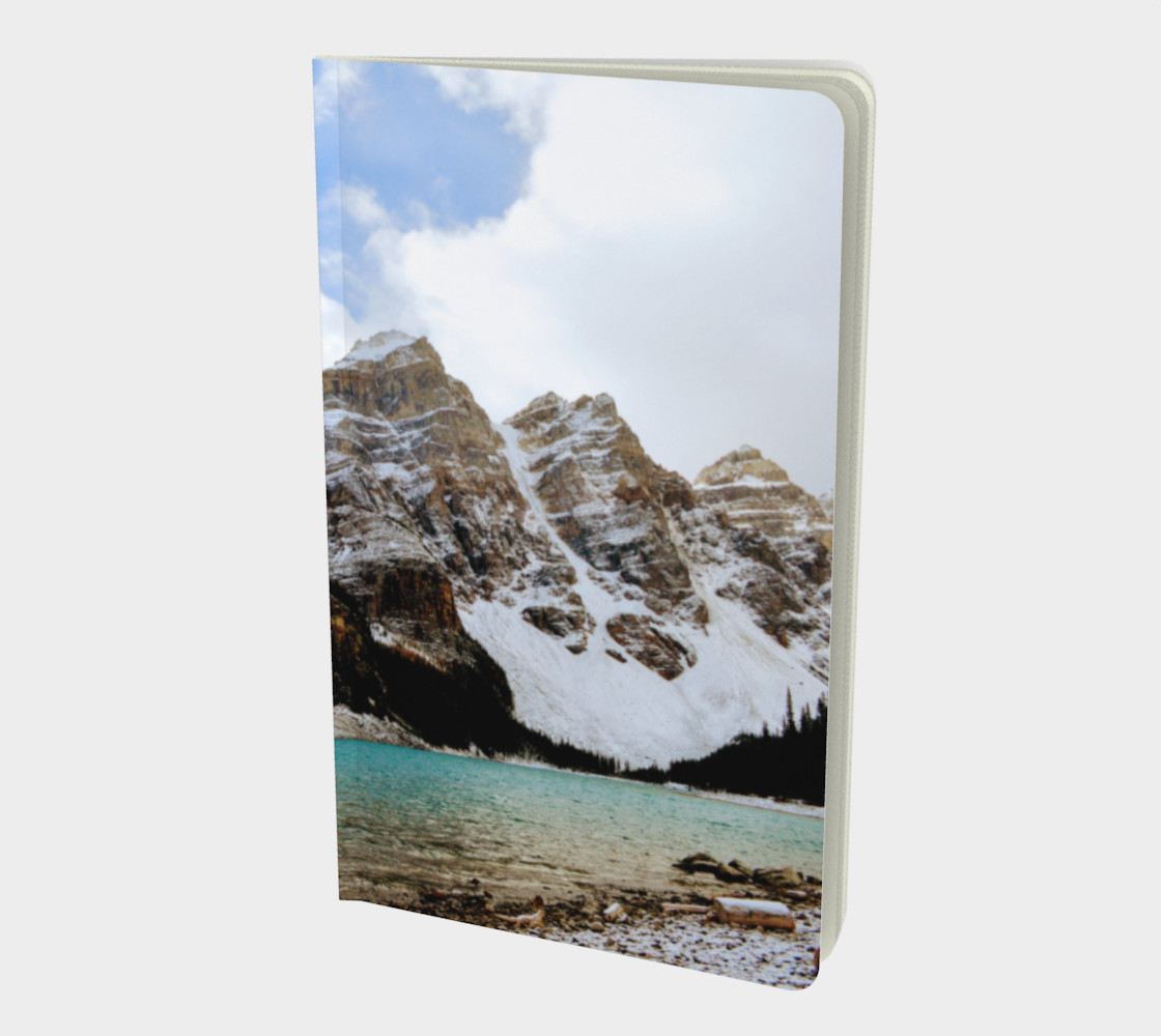 Small Journal - Moraine Lake Rocky Mountains  - John Muir quote preview #1