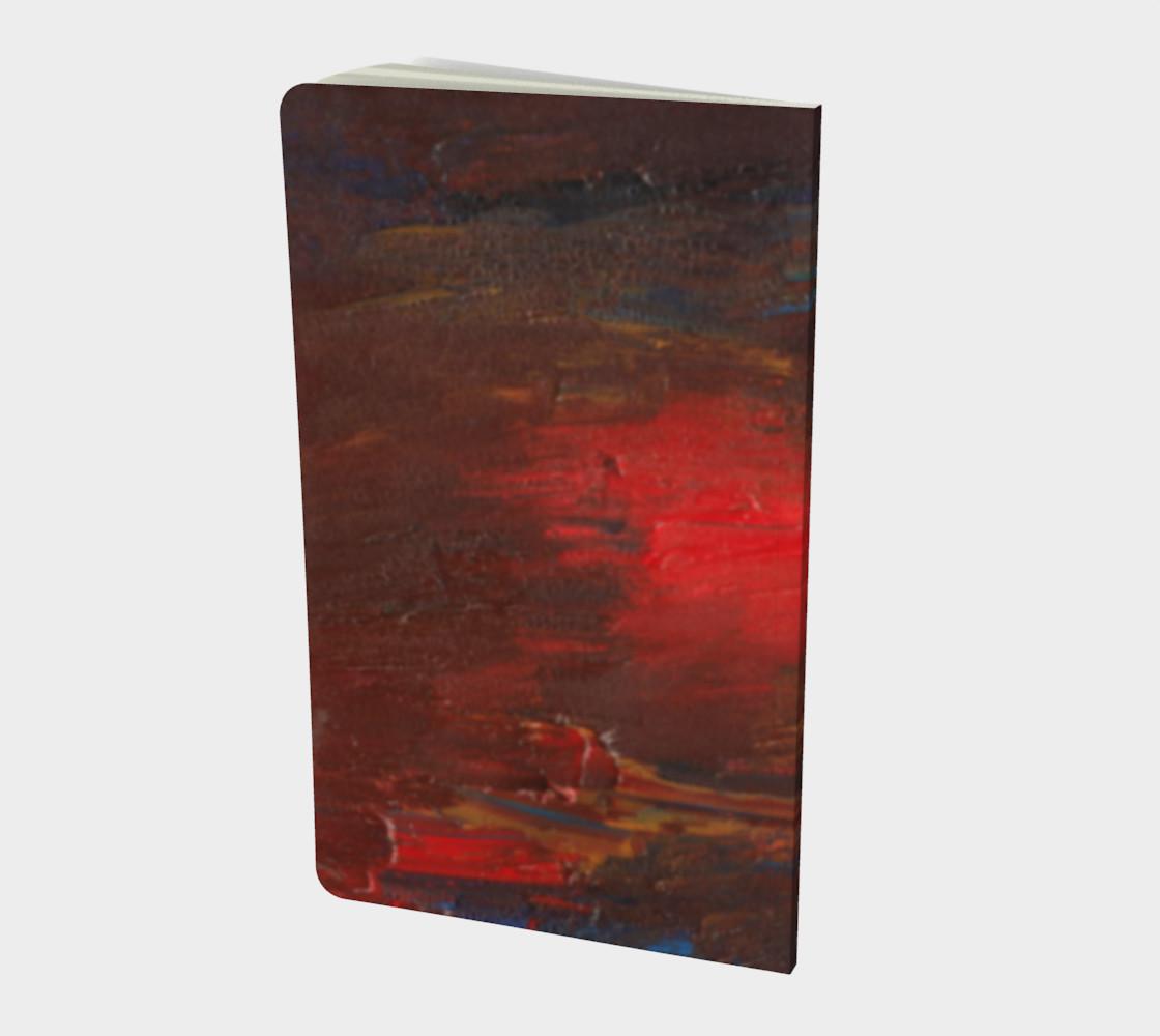 Crimson Ocean Small Notebook preview #2