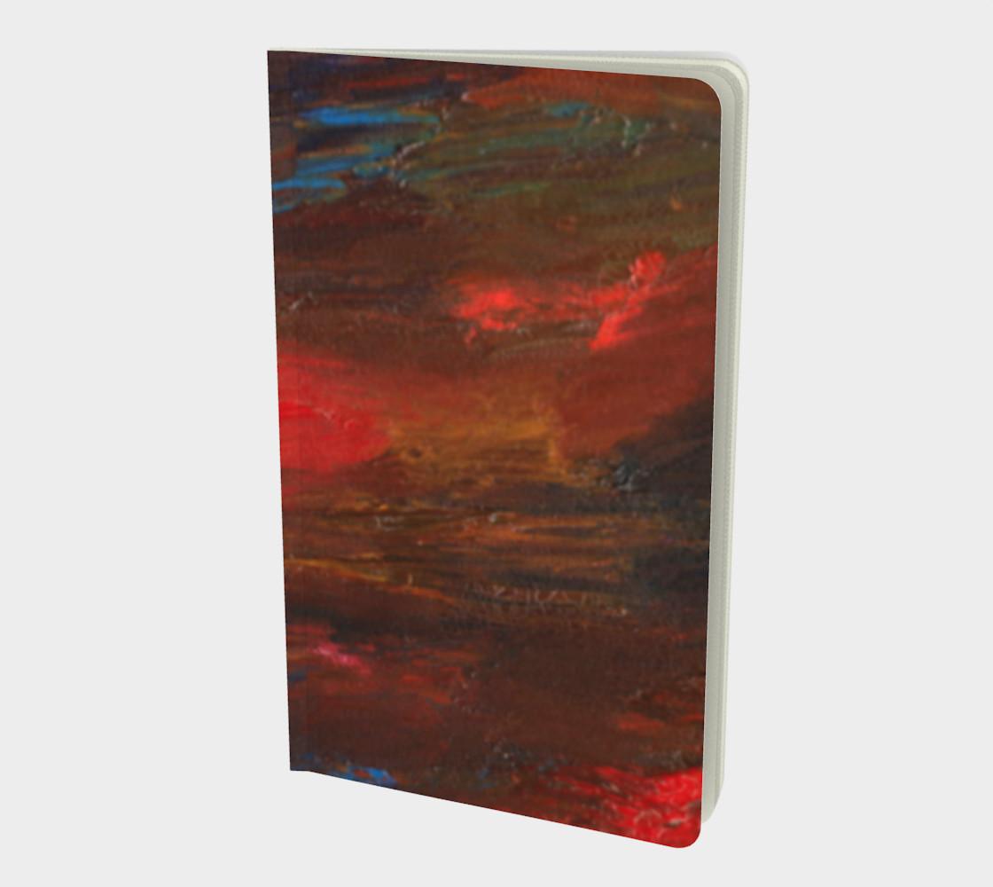 Crimson Ocean Small Notebook preview #1