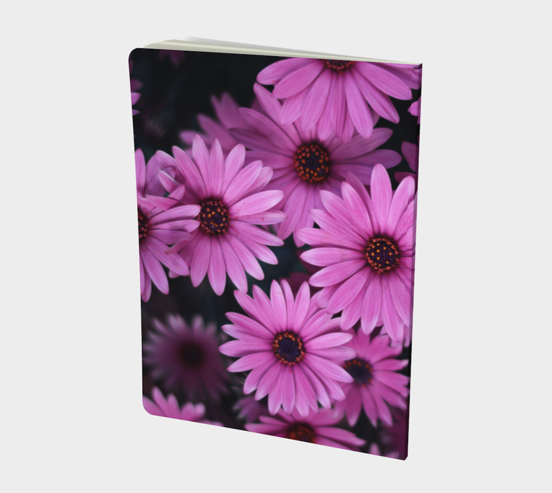 Pericallis Purple Flower Notebook preview #2