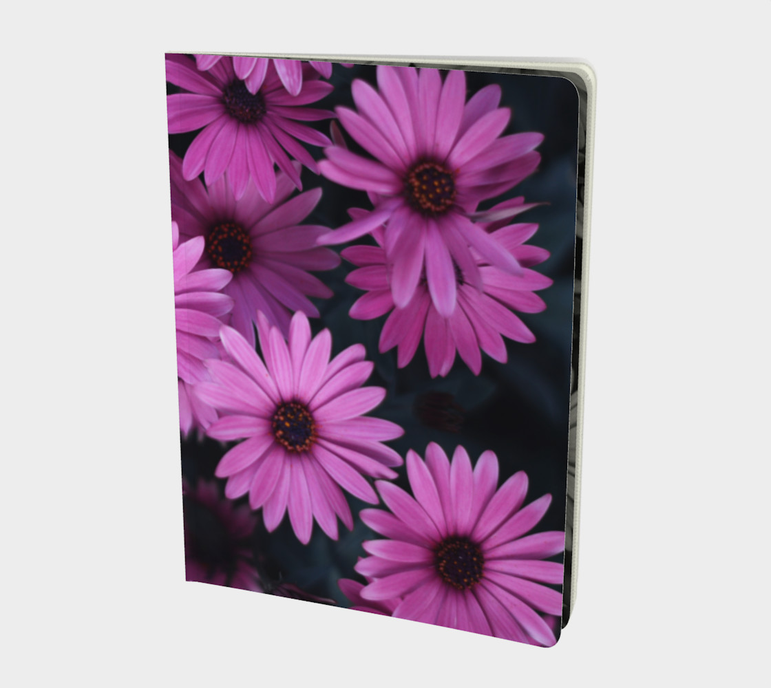 Pericallis Purple Flower Notebook preview #1