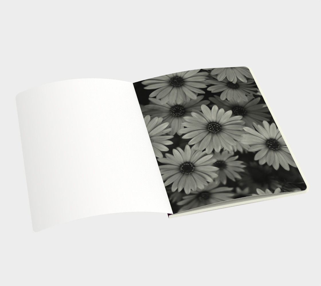 Pericallis Purple Flower Notebook preview #3